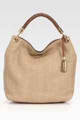 Michael Kors Large Canvas Shoulder Bag
