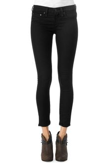 Rag & Bone Zipper Capri - Midnight - Lyst