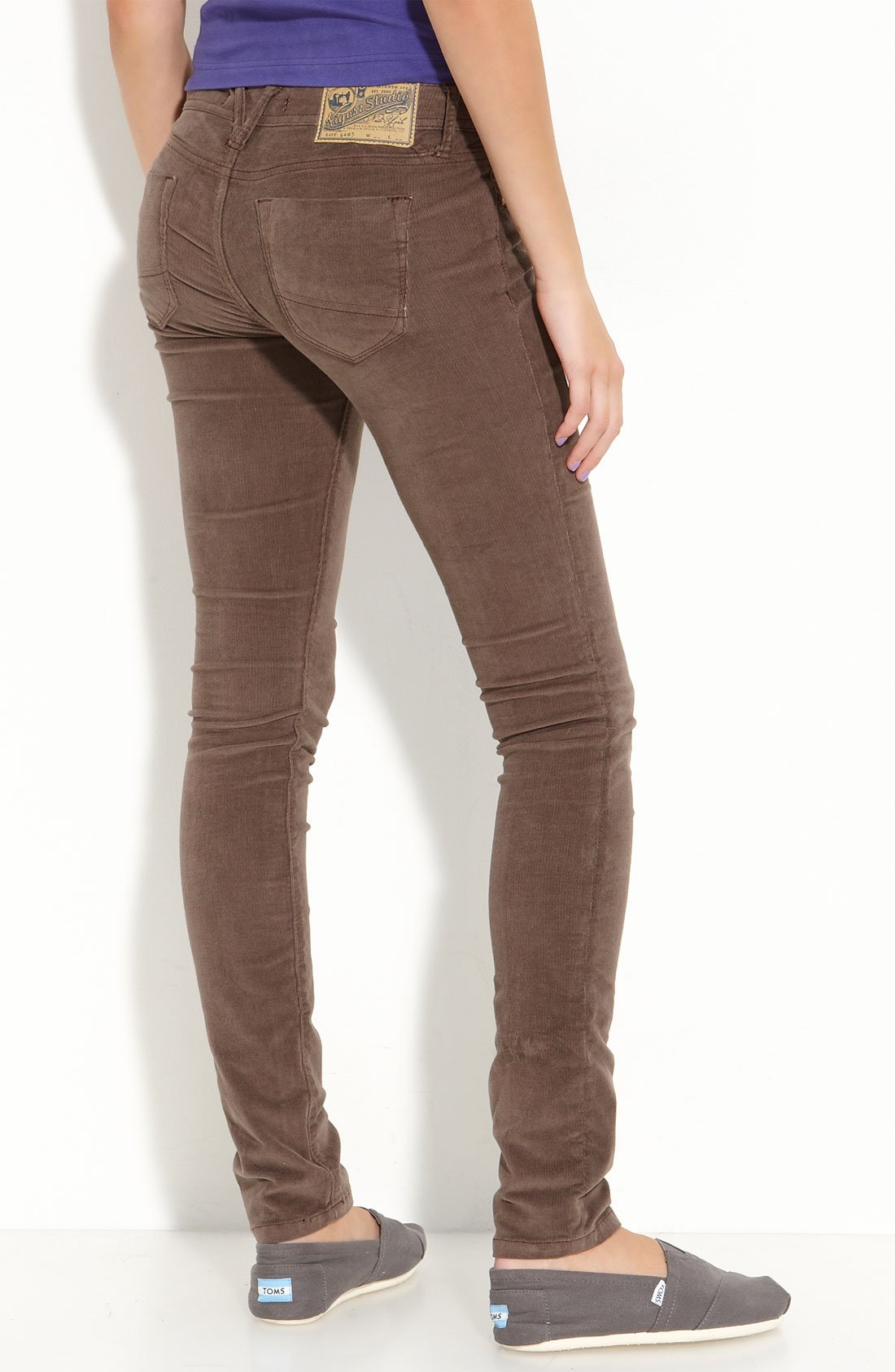 stretch corduroy pants - Pi Pants