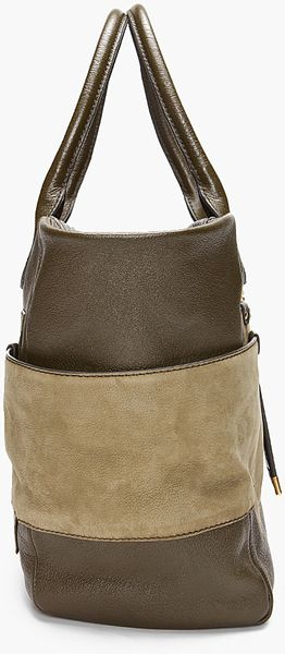 Marc By Marc Jacobs Green Hayley Tote - Lyst