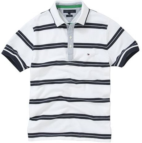 Tommy Hilfiger Striped Polo Shirt Tommy Hilfiger Hill Stripe