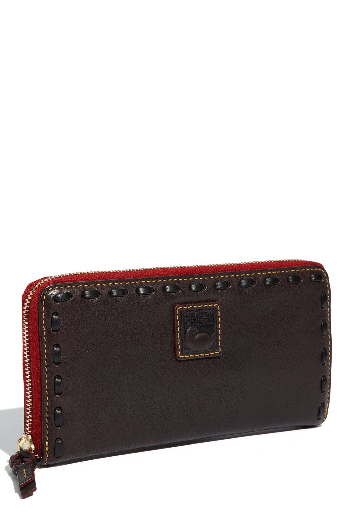 Nordstrom The Grove >> Dooney & Bourke Florentine - Large Zip Around Wallet in Brown (brown tmoro) | Lyst