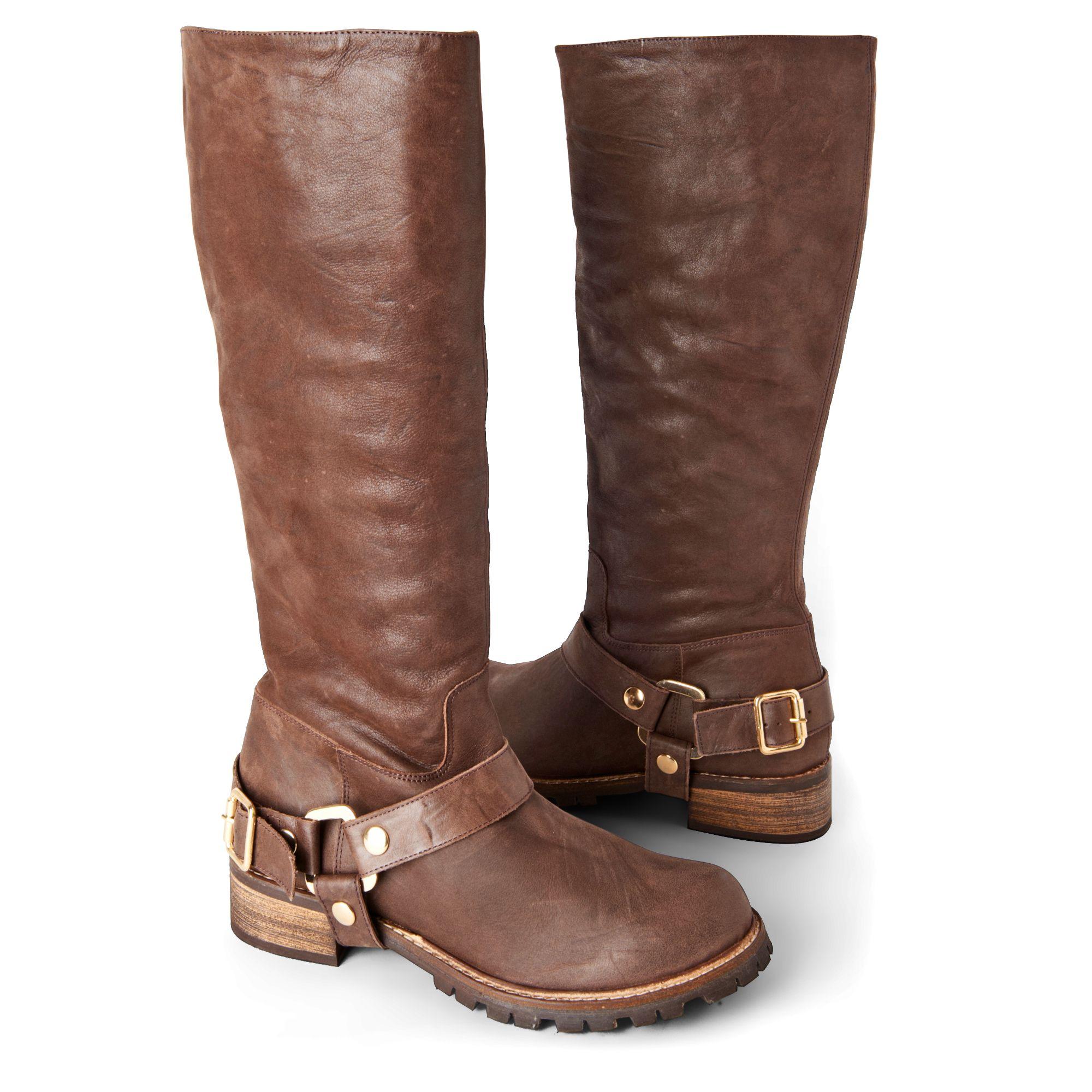 kg by kurt geiger winnie knee high boots in brown lyst