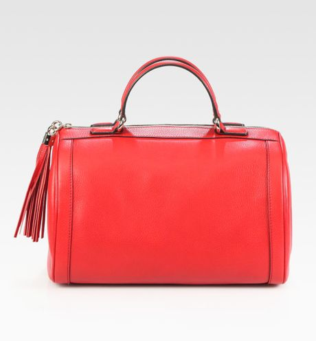 ca39dd0ff5fb Gucci Soho Boston Bag Red | Stanford Center for Opportunity Policy ...