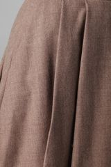 Club Monaco Angela Skirt in Brown - Lyst