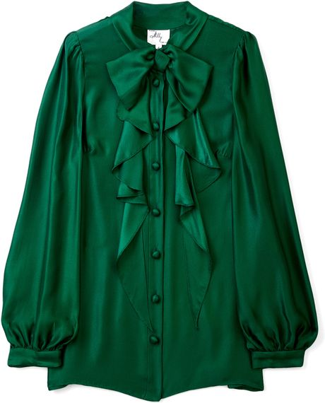 Womens Emerald Green Blouse 64