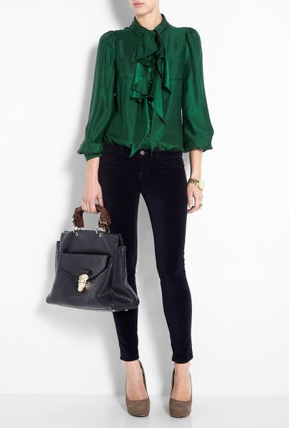 Womens Emerald Green Blouse 48