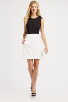Piazza Sempione Stretch Cotton Skirt - Lyst