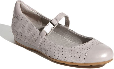 Cole Haan Air Tali Mary Jane Flat in Gray (dusk grey) - Lyst