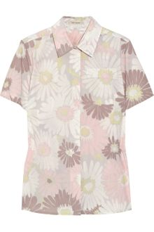 Marc Jacobs Daisy-print Cotton Shirt - Lyst