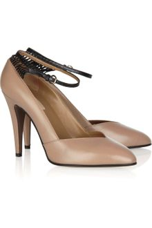 Valentino Two-tone Leather Pumps - Lyst