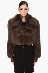Givenchy Fox Fur Jacket - Lyst