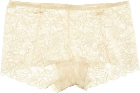 H&m Shorts in Beige (natural) - Lyst