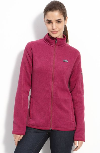 Patagonia Better Sweater Jacket In Purple Magenta Lyst