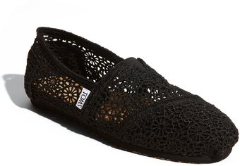 Toms Classic Crochet Slip-on (women) - Lyst