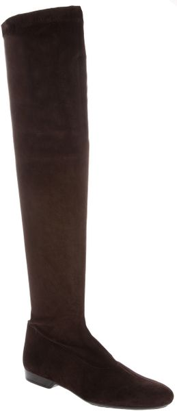 Robert Clergerie Knee High Boot - Lyst