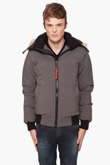 Cmfr Hooded Oxton Bomber Jacket - Lyst