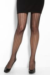 Commando Stripe Fishnet Tights - Lyst