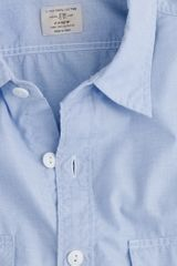 J.Crew End-on-end Utility Shirt with Pockets - Lyst