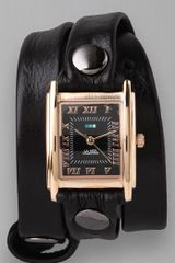 La Mer Collections Simple Wrap Watch - Lyst