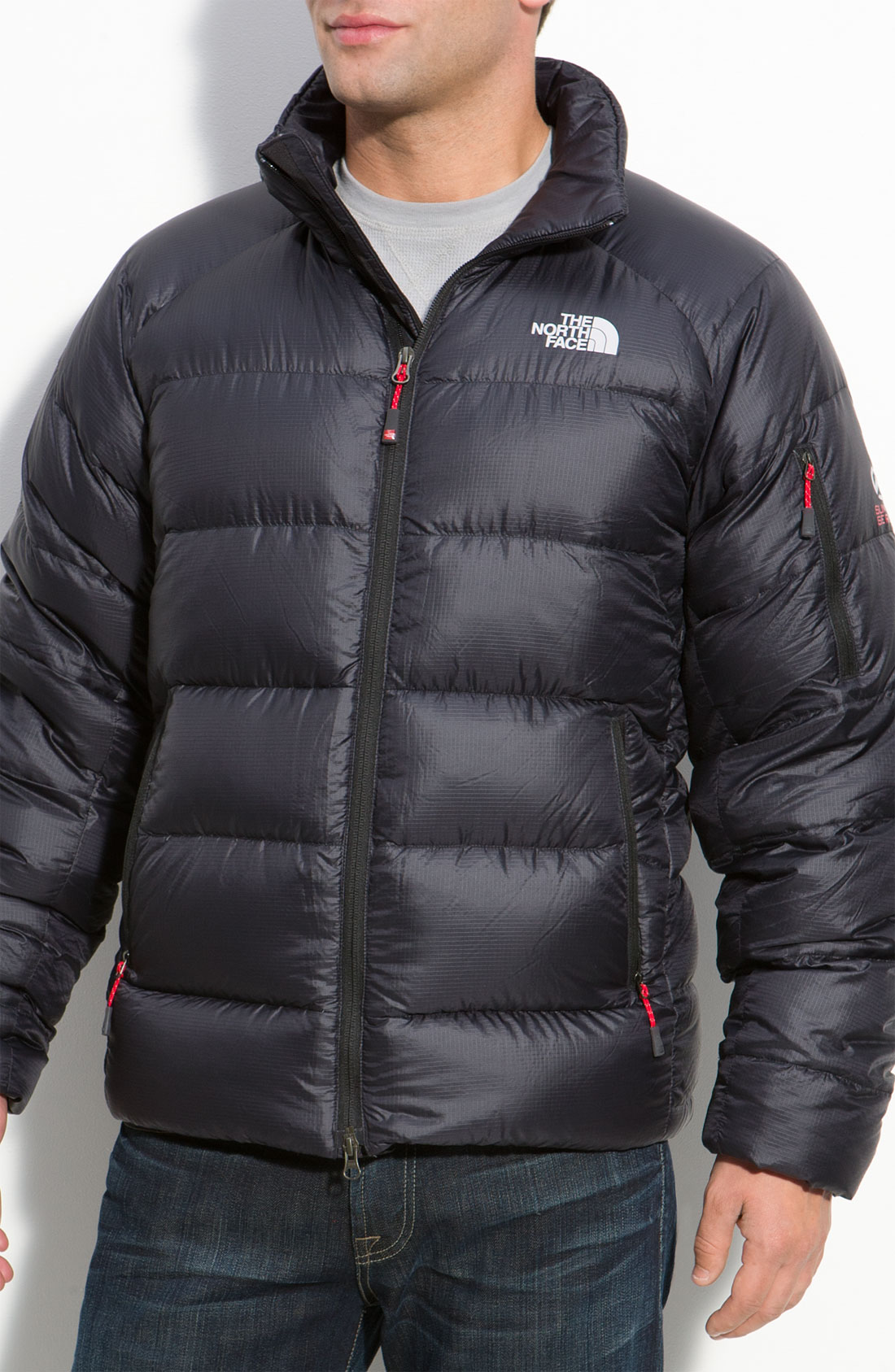 The North Face Elysium Summit Series Down Jacket In Black