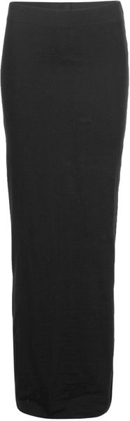 Allsaints Toledo Maxi Skirt in Black - Lyst