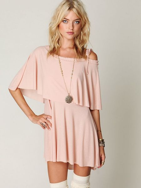 FREE PEOPLE PINK DOUBLE RAINBOW DRESS on The Hunt