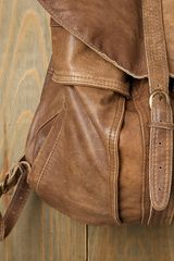 Free People Belmont Backpack in Brown (tan leather) - Lyst