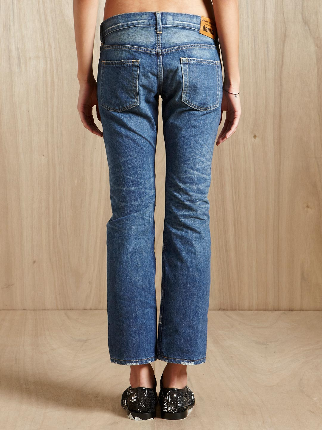 Discount For Sale destroyed jeans Junya Watanabe Cheap Affordable Free Shipping Best Wholesale Buy Cheap Low Shipping Big Discount Cheap Price S3Jj4q