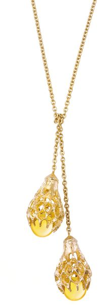 Baccarat Merveille Necklace, Yellow - Lyst