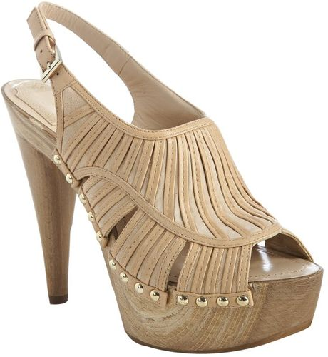 Dior Nude Strappy Leather Temptation Slingback Clogs in Beige (nude) - Lyst