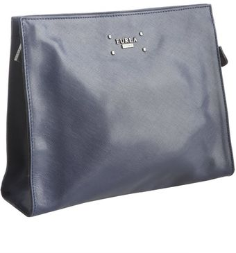 Furla Deep Blue Leather London Travel Case - Lyst