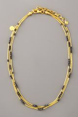 Gurhan Multi-strand Gold Necklace - Lyst