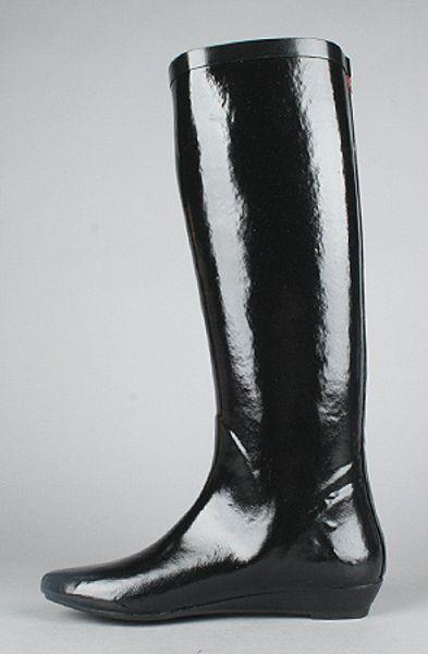 Jeffrey Campbell The Voom Rain Boot In Black In Black Lyst