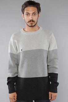 Kr3w The Plymouth Sweater in Grey - Lyst