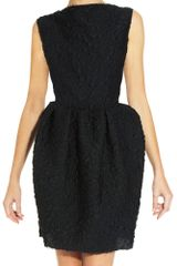 Lanvin Stamped Dress in Black - Lyst
