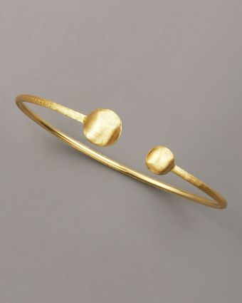 Marco Bicego Brushed Gold Bangle - Lyst