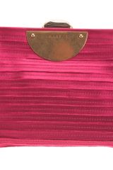 Nina Ricci Framed Bag in Pink (cerise) - Lyst