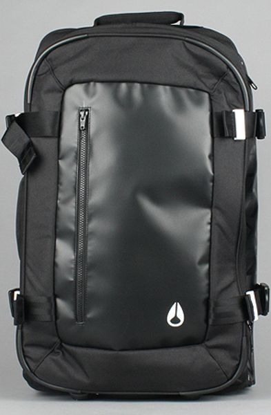 Nixon The Concept Carry-on Travel Bag in Black in Black for Men