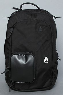 Nixon The Shadow World Travel Backpack in Black - Lyst