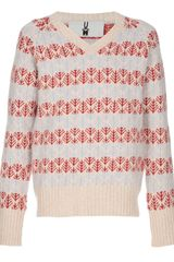 Peter Jensen Fair Isle Knit Jumper