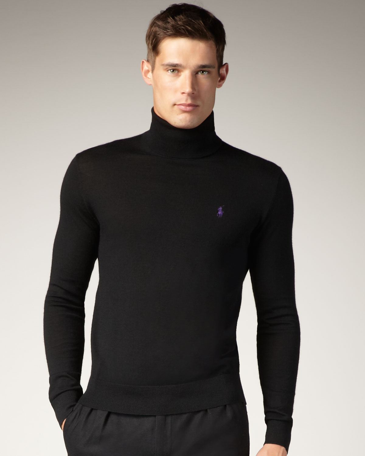 Ralph Lauren Turtleneck Sweater - Long Sweater Jacket