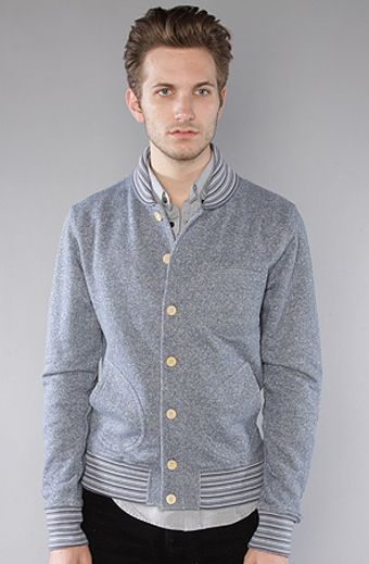 The Scifen Company The Lafayette Buttondown Crewneck Sweatshirt - Lyst