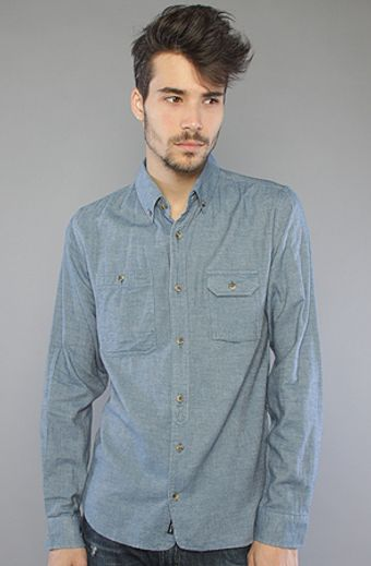 The Scifen Company The Strategy Buttondown Shirt in Blue - Lyst