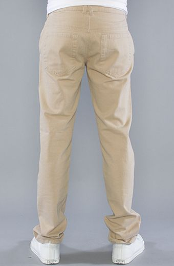 The Scifen Company The Herringbone Pants in Khaki - Lyst