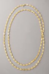 Tory Burch T-chain Necklace - Lyst