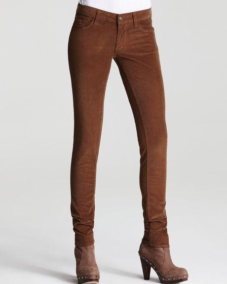 Simple Stitch39s Womens Black Skinny Jeans Ladies Slim Corduroy Pants Size 8