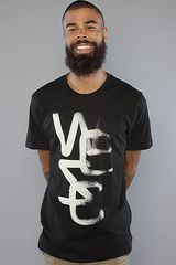 Wesc The Overlay Light Tee in Black - Lyst