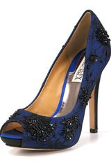 Badgley Mischka Stella Platform Pumps - Lyst