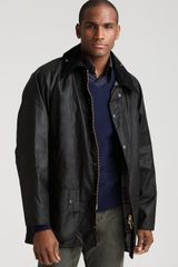 Barbour Classic Beaufort Jacket in Black - Lyst